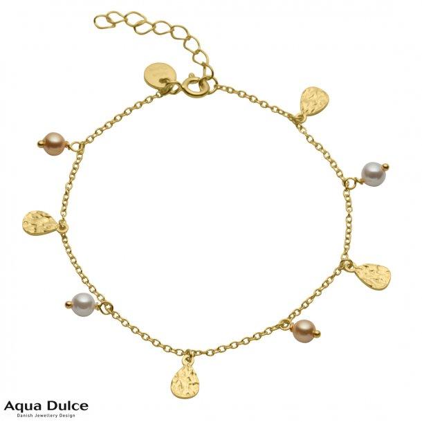 Armbånd med perler - Aqua Dulce Anni