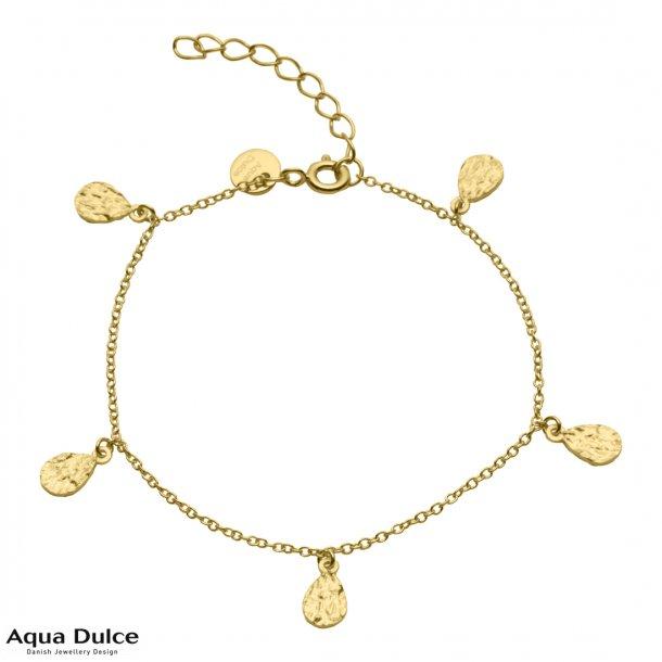Armbånd i forgyldt sterling sølv - Aqua Dulce Cate
