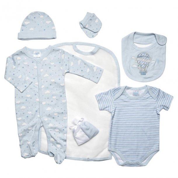 Babysæt - 7 dele, lyseblå