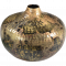 Boston rund buttet vase i jern