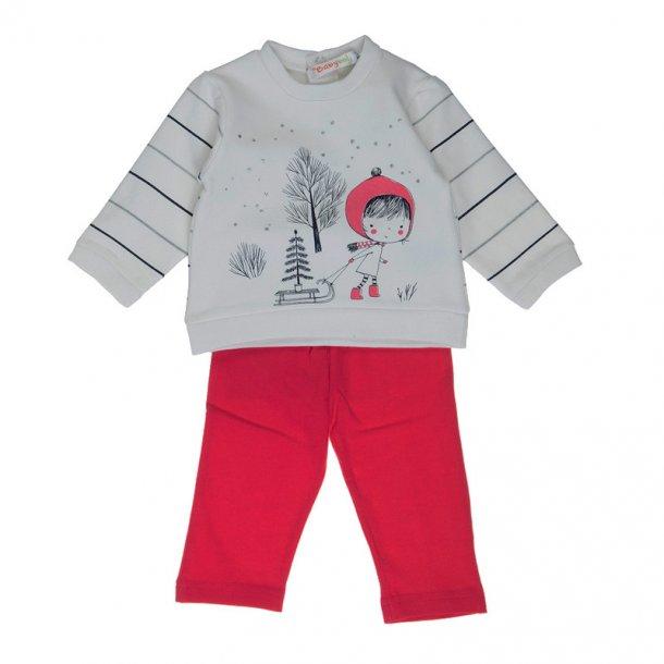 Børnesweatshirt og Leggings