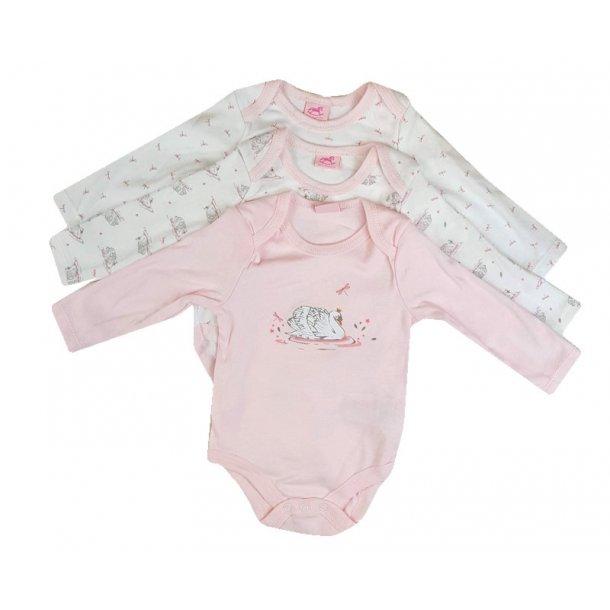 Baby Bodystocking, 3-pak