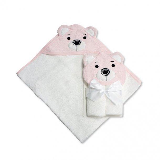 Babyhåndklæde med hætte