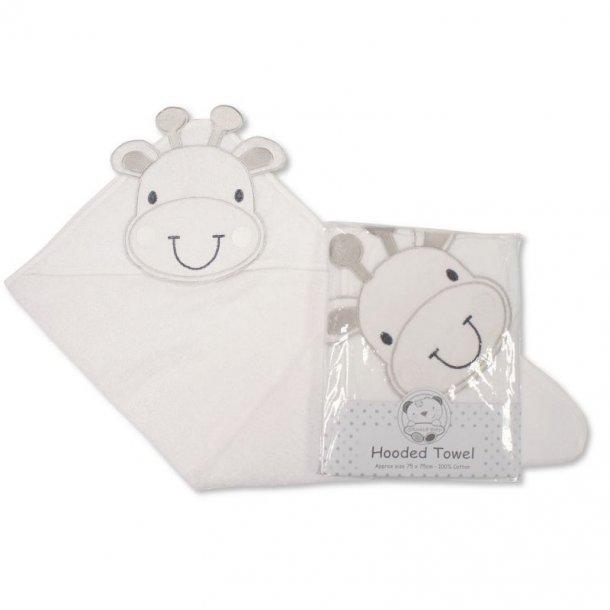 Babyhåndklæde med hætte - Giraf